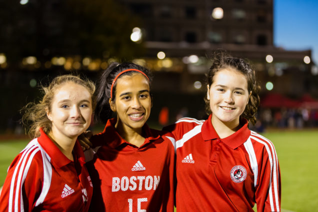 10/23/15 -- Boston, Massachusetts BU Academy Fall Festival activities at the BU Academy and Nickerson Field on October 23, 2015. Photo by Dana J. Quigley for Boston University Photography