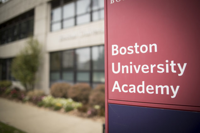 Photography for Boston University Academy web site and publications.